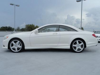 2013 MERCEDES BENZ CL550 4MATIC - WHITE ON BEIGE 2
