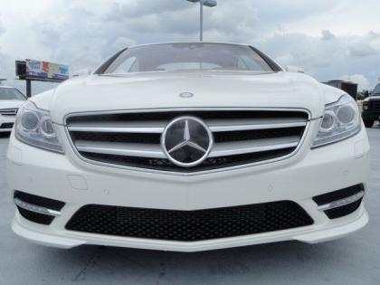 2013 MERCEDES BENZ CL550 4MATIC - WHITE ON BEIGE 3