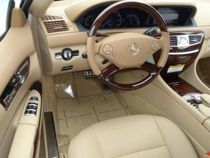 2013 MERCEDES BENZ CL550 4MATIC - WHITE ON BEIGE 4