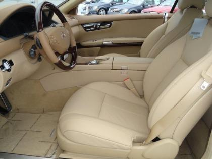 2013 MERCEDES BENZ CL550 4MATIC - WHITE ON BEIGE 5