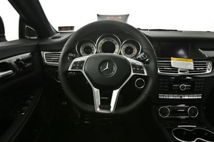 2013 MERCEDES BENZ CLS550 BASE - BLACK ON BLACK 5