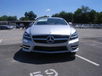 2013 MERCEDES BENZ CLS550 4MATIC - SILVER ON BLACK 2