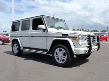 2013 MERCEDES BENZ G550 4MATIC - WHITE ON BROWN