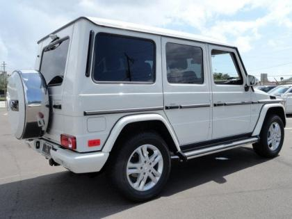 2013 MERCEDES BENZ G550 4MATIC - WHITE ON BROWN 4