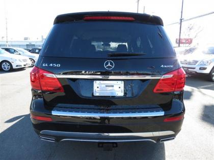 2013 MERCEDES BENZ GL450 4MATIC - BLACK ON BLACK 4