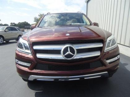 2013 MERCEDES BENZ GL450 4MATIC - RED ON BEIGE 2