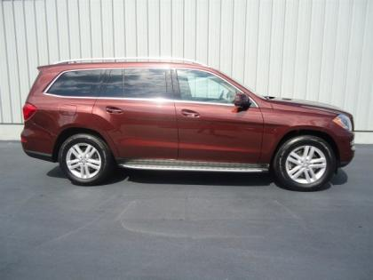 2013 MERCEDES BENZ GL450 4MATIC - RED ON BEIGE 3