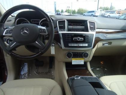 2013 MERCEDES BENZ GL450 4MATIC - RED ON BEIGE 4
