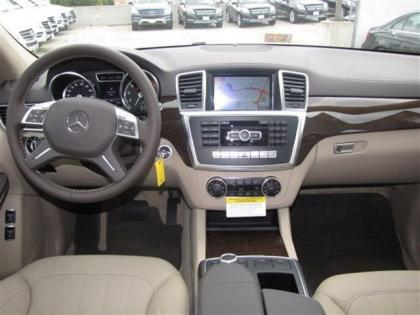 2013 MERCEDES BENZ GL450 4MATIC - WHITE ON BEIGE 4
