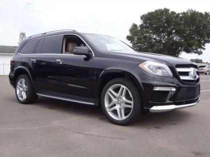 2013 MERCEDES BENZ GL550 4MATIC - BLACK ON BEIGE 1