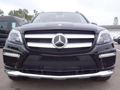 2013 MERCEDES BENZ GL550 4MATIC - BLACK ON BEIGE 2