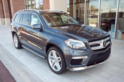 2013 MERCEDES BENZ GL550 4MATIC - GREY ON BEIGE 1