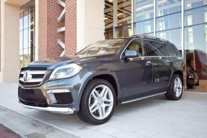 2013 MERCEDES BENZ GL550 4MATIC - GREY ON BEIGE 2
