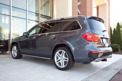 2013 MERCEDES BENZ GL550 4MATIC - GREY ON BEIGE 4