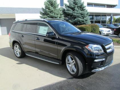 2013 MERCEDES BENZ GL550 4MATIC - BLACK ON BLACK