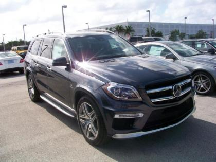 2013 MERCEDES BENZ GL63 AMG - GRAY ON BROWN 2