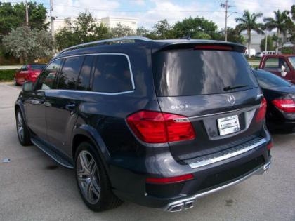 2013 MERCEDES BENZ GL63 AMG - GRAY ON BROWN 4