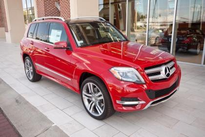 2013 MERCEDES BENZ GLK350 4MATIC - RED ON BLACK