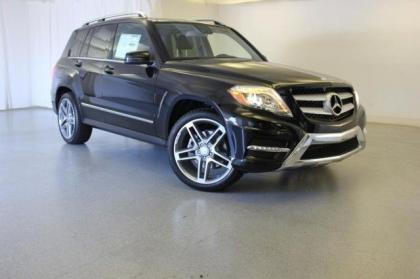 2013 MERCEDES BENZ GLK350 4MATIC - BLACK ON BLACK 1