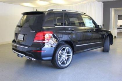 2013 MERCEDES BENZ GLK350 4MATIC - BLACK ON BLACK 2