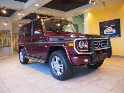 2013 MERCEDES BENZ G550 4MATIC - RED ON ORANGE 1