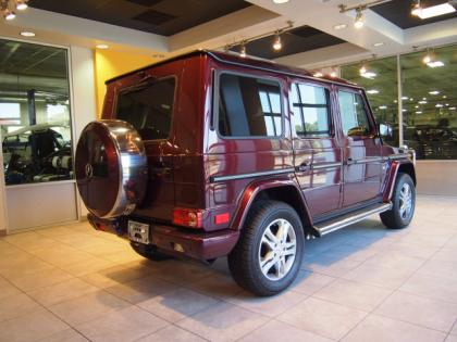 2013 MERCEDES BENZ G550 4MATIC - RED ON ORANGE 2