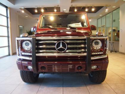 2013 MERCEDES BENZ G550 4MATIC - RED ON ORANGE 4