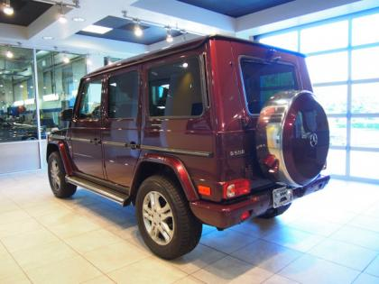 2013 MERCEDES BENZ G550 4MATIC - RED ON ORANGE 5