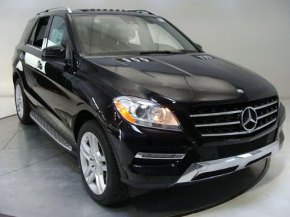 2013 MERCEDES BENZ ML350 4MATIC - BLACK ON BLACK