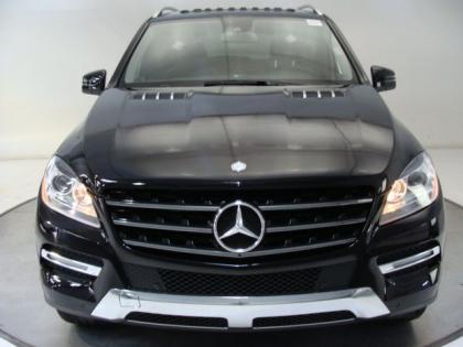 Export New 2013 MERCEDES BENZ ML350 4MATIC - BLACK ON BLACK