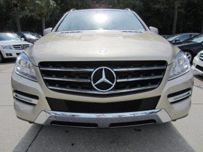 2013 MERCEDES BENZ ML350 4MATIC - BEIGE ON BEIGE 1