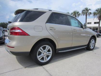 2013 MERCEDES BENZ ML350 4MATIC - BEIGE ON BEIGE 2