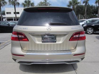 2013 MERCEDES BENZ ML350 4MATIC - BEIGE ON BEIGE 3