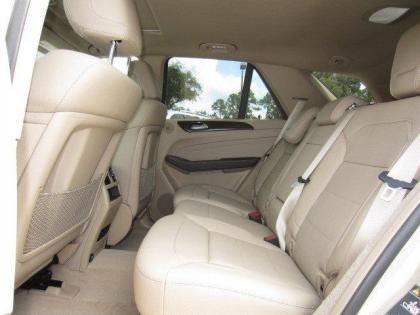 2013 MERCEDES BENZ ML350 4MATIC - BEIGE ON BEIGE 7