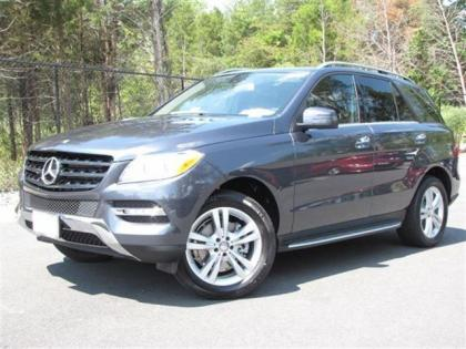 2013 MERCEDES BENZ ML350 4MATIC - GRAY ON BLACK