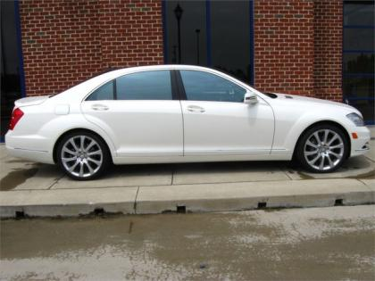 2013 MERCEDES BENZ S550 4MATIC - WHITE ON BROWN 2