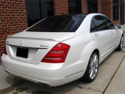2013 MERCEDES BENZ S550 4MATIC - WHITE ON BROWN 3