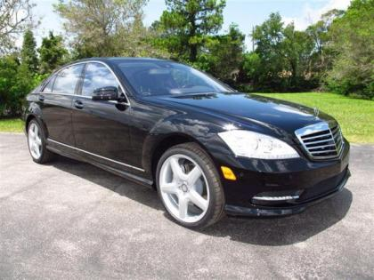 2013 MERCEDES BENZ S550 BASE - BLACK ON BLACK 1