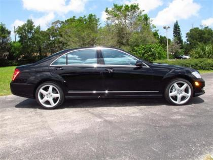 2013 MERCEDES BENZ S550 BASE - BLACK ON BLACK 2