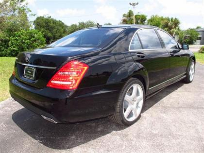 2013 MERCEDES BENZ S550 BASE - BLACK ON BLACK 3