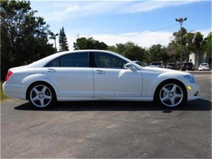 2013 MERCEDES BENZ S550 BASE - WHITE ON BEIGE 2