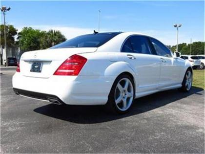 2013 MERCEDES BENZ S550 BASE - WHITE ON BEIGE 3