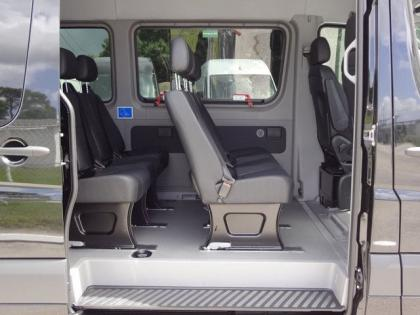 2013 MERCEDES BENZ SPRINTER 2500 - BLACK ON BLACK 7