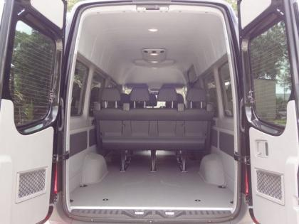2013 MERCEDES BENZ SPRINTER 2500 - BLACK ON BLACK 8