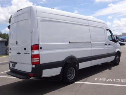 2013 MERCEDES BENZ SPRINTER 3500 HIGH ROOF - WHITE ON BLACK 4