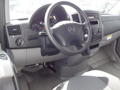2013 MERCEDES BENZ SPRINTER 3500 HIGH ROOF - WHITE ON BLACK 6