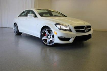 2013 MERCEDES BENZ CLS63 AMG - WHITE ON BLACK