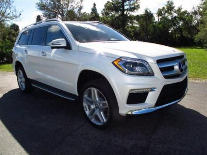 2013 MERCEDES BENZ GL550 4MATIC - WHITE ON BEIGE 1