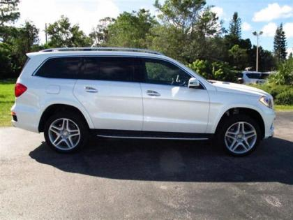 2013 MERCEDES BENZ GL550 4MATIC - WHITE ON BEIGE 2