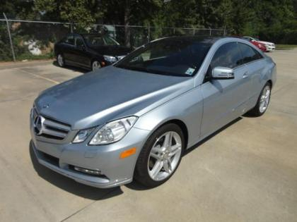 2013 MERCEDES BENZ E350 BASE - SILVER ON RED